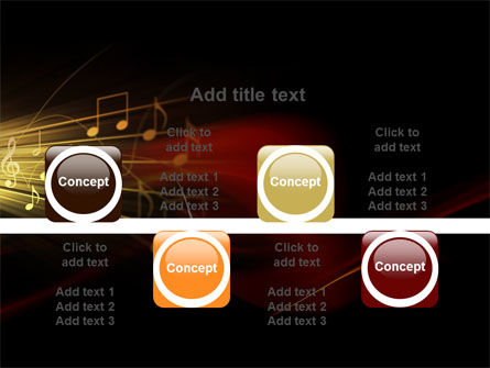 Music Stave PowerPoint Template Slide 18