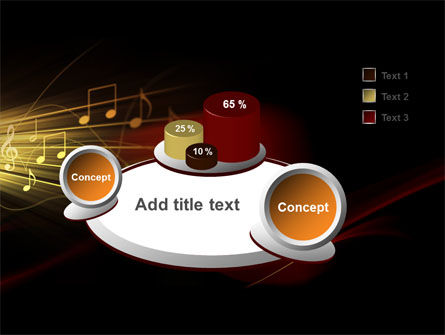 Music Stave PowerPoint Template Slide 6