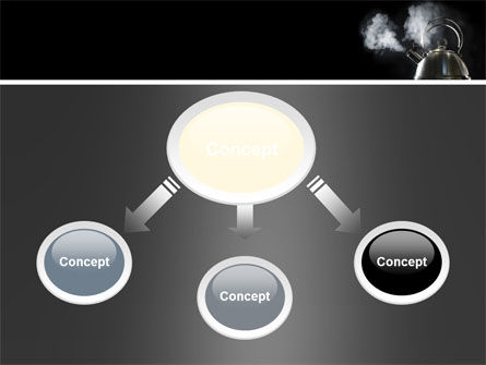 Boiling Kettle At The Kitchen PowerPoint Template Slide 4