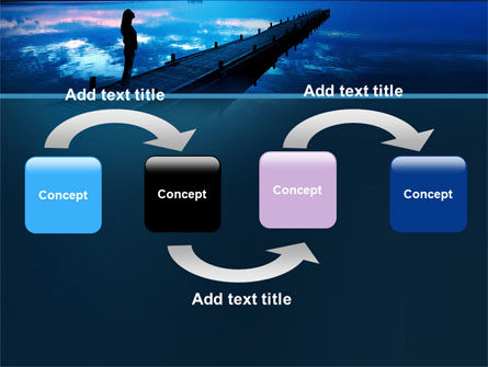 Evening Pier PowerPoint Template Slide 4