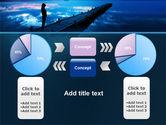 Evening Pier PowerPoint Template#11