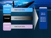 Evening Pier PowerPoint Template#12