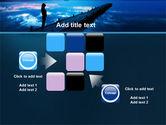 Evening Pier PowerPoint Template#16