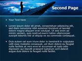 Evening Pier PowerPoint Template#2