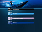 Evening Pier PowerPoint Template#3