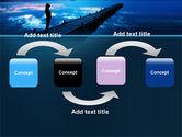 Evening Pier PowerPoint Template#4