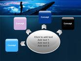 Evening Pier PowerPoint Template#7