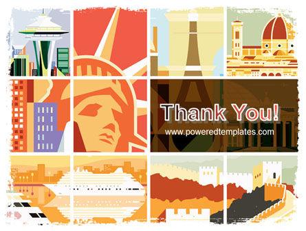 World Capitals PowerPoint Template Slide 20