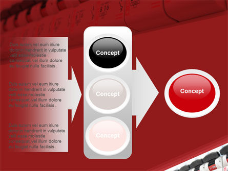 Electric Power Switch PowerPoint Template Slide 11