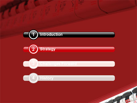 Electric Power Switch PowerPoint Template, Slide 3, 06097, Careers/Industry — PoweredTemplate.com