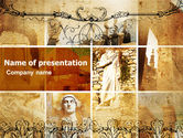 Education & Training: Roman Architecture PowerPoint Template #06100