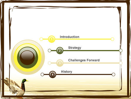 River duck powerpoint template backgrounds 06105 river duck powerpoint template slide 3 06105 animals and pets poweredtemplate toneelgroepblik Image collections