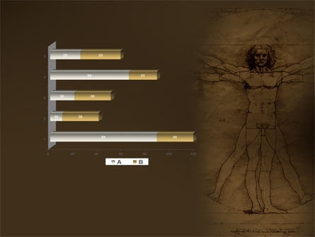 Vitruvian Man By Leonardo da Vinci PowerPoint Template Slide 11