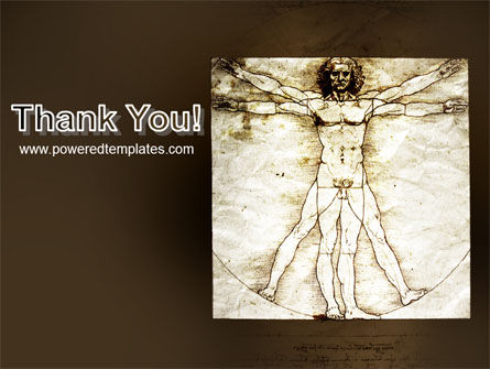 Vitruvian Man By Leonardo da Vinci PowerPoint Template Slide 20