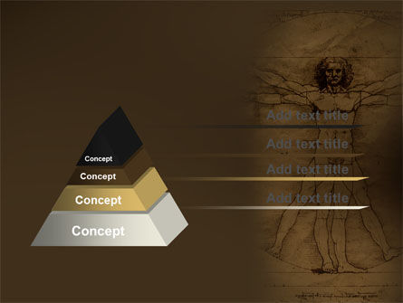 Vitruvian Man By Leonardo da Vinci PowerPoint Template Slide 4