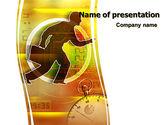 Business: Templat PowerPoint Kehabisan Waktu #06108