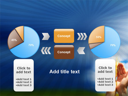 Wheat Cone PowerPoint Template Slide 11