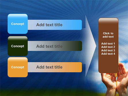 Wheat Cone PowerPoint Template Slide 12