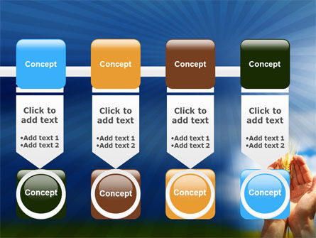 Wheat Cone PowerPoint Template Slide 18