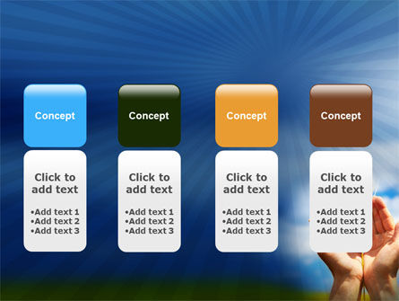 Wheat Cone PowerPoint Template Slide 5