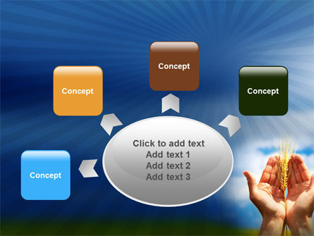 Wheat Cone PowerPoint Template Slide 7