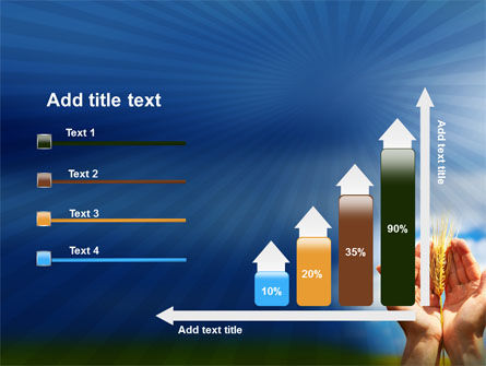 Wheat Cone PowerPoint Template Slide 8