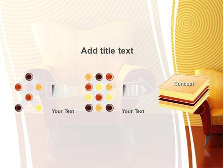 Modern Armchair PowerPoint Template Slide 9
