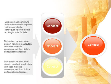 Candles and Wine PowerPoint Template Slide 11