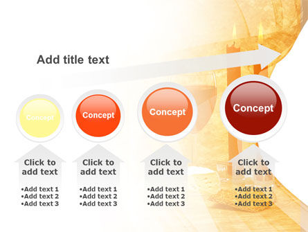Candles and Wine PowerPoint Template Slide 13