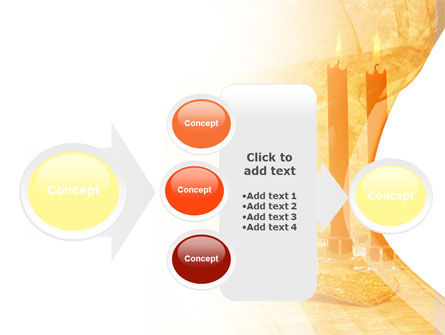 Candles and Wine PowerPoint Template Slide 17