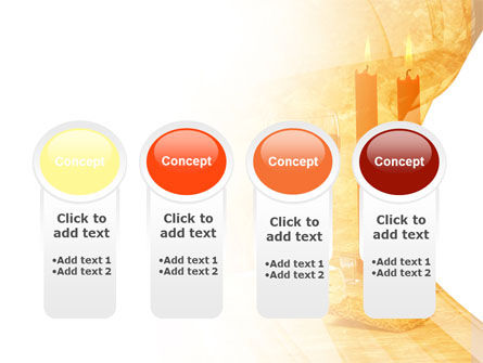 Candles and Wine PowerPoint Template Slide 5