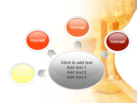 Candles and Wine PowerPoint Template Slide 7