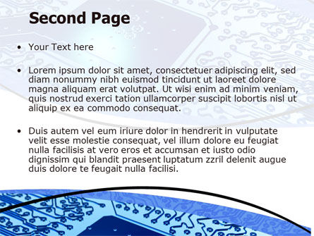 System On Chip PowerPoint Template Slide 2