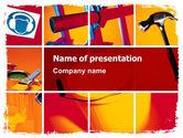 Utilities/Industrial: Renovation PowerPoint Template #06115