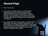 Mourning PowerPoint Template#2