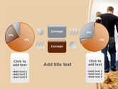 Father and Kids PowerPoint Template#16