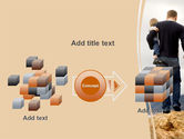 Father and Kids PowerPoint Template#17