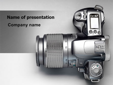 Digital Photo Camera PowerPoint Template