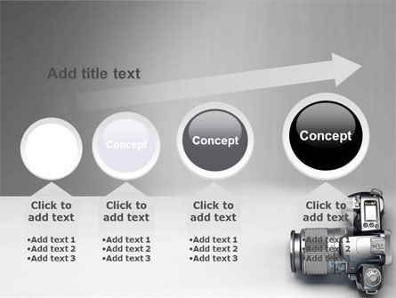 Digital Photo Camera PowerPoint Template Slide 13