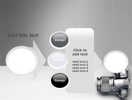 Digital Photo Camera PowerPoint Template Slide 17