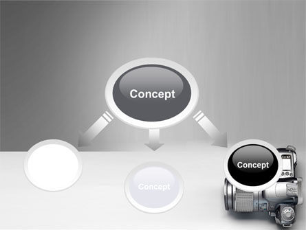 Digital Photo Camera PowerPoint Template Slide 4