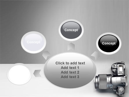 Digital Photo Camera PowerPoint Template Slide 7
