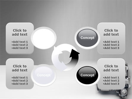 Digital Photo Camera PowerPoint Template Slide 9