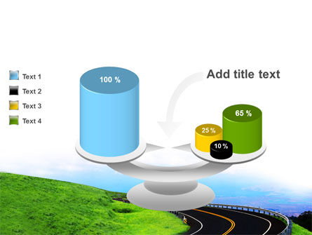 Mountain Highway PowerPoint Template Slide 10