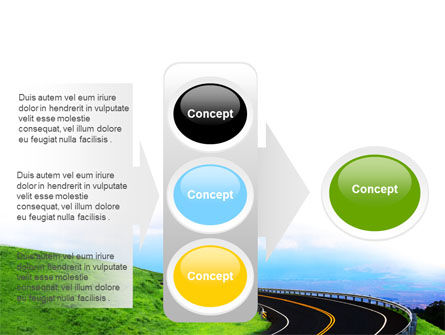 Mountain Highway PowerPoint Template Slide 11
