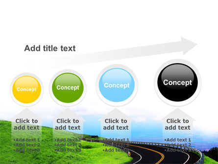 Mountain Highway PowerPoint Template Slide 13