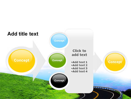 Mountain Highway PowerPoint Template Slide 17