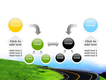 Mountain Highway PowerPoint Template Slide 19