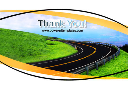 Mountain Highway PowerPoint Template Slide 20