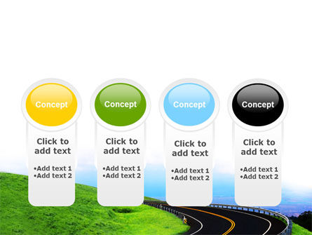 Mountain Highway PowerPoint Template Slide 5